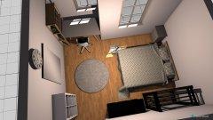 Raumgestaltung Zimmer WG in der Kategorie Arbeitszimmer