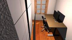 Raumgestaltung Zimmer2 klein in der Kategorie Arbeitszimmer
