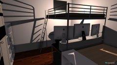 Raumgestaltung zimmer in der Kategorie Arbeitszimmer