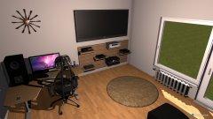 Raumgestaltung Zocker-Gästezimmer in der Kategorie Arbeitszimmer