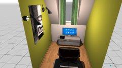 Raumgestaltung zocker in der Kategorie Arbeitszimmer