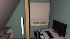 Raumgestaltung Zockerzimmer in der Kategorie Arbeitszimmer