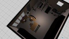 Raumgestaltung zolder in der Kategorie Arbeitszimmer