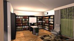 Raumgestaltung Zoom BAckground 3 in der Kategorie Arbeitszimmer