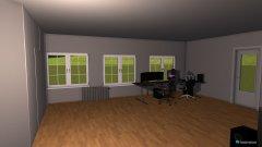 Raumgestaltung zudt in der Kategorie Arbeitszimmer