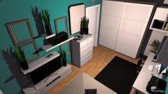 Raumgestaltung Zukunfts Zimmer in der Kategorie Arbeitszimmer
