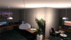 Raumgestaltung Zukunfts-Zockerraum in der Kategorie Arbeitszimmer
