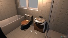Raumgestaltung 1bathroom in der Kategorie Badezimmer
