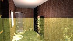 Raumgestaltung 40 Quadratmeter in der Kategorie Badezimmer