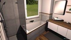 Raumgestaltung 6,28m² Badezimmer in der Kategorie Badezimmer
