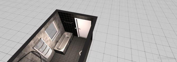 Raumgestaltung Andreas Badezimmer in der Kategorie Badezimmer