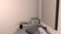 Raumgestaltung Anja Badezimmer in der Kategorie Badezimmer