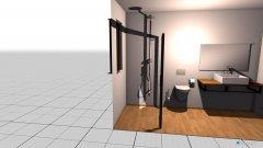 Raumgestaltung łazienka dół  in der Kategorie Badezimmer