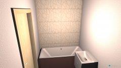 Raumgestaltung Łazienka Paulina in der Kategorie Badezimmer