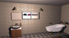 Raumgestaltung łazienka rodziców in der Kategorie Badezimmer