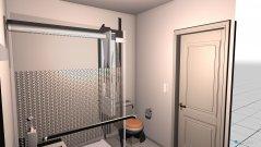 Raumgestaltung Baño 1 in der Kategorie Badezimmer