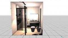 Raumgestaltung Baño 1er piso in der Kategorie Badezimmer