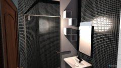 Raumgestaltung BAÑO PEQUEÑO  in der Kategorie Badezimmer