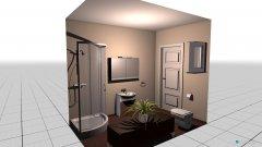 Raumgestaltung baño in der Kategorie Badezimmer