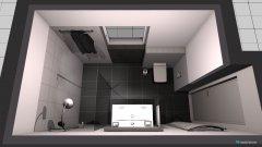 Raumgestaltung Bad 1.1 in der Kategorie Badezimmer