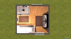 Raumgestaltung Bad 1. OG in der Kategorie Badezimmer