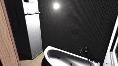 Raumgestaltung Bad 1 OG in der Kategorie Badezimmer