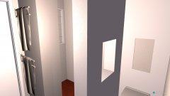 Raumgestaltung Bad 1. Stock in der Kategorie Badezimmer