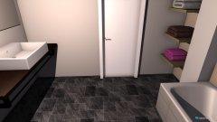 Raumgestaltung Bad 1 in der Kategorie Badezimmer