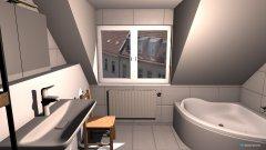 Raumgestaltung Bad 1OG in der Kategorie Badezimmer