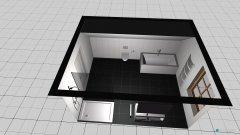 Raumgestaltung Bad 2 richtig Raumhöhe in der Kategorie Badezimmer