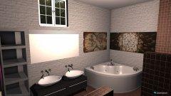 Raumgestaltung Bad 2 in der Kategorie Badezimmer
