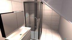 Raumgestaltung Bad 2st in der Kategorie Badezimmer