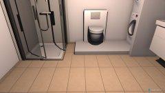Raumgestaltung Bad 3x3,2 in der Kategorie Badezimmer