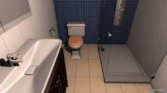 Raumgestaltung Bad 4 in der Kategorie Badezimmer