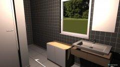 Raumgestaltung Bad Bade quer in der Kategorie Badezimmer