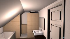 Raumgestaltung Bad Bene&Nikol in der Kategorie Badezimmer