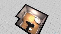Raumgestaltung bad besondere Aufteilung in der Kategorie Badezimmer