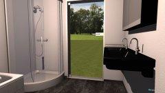 Raumgestaltung Bad Daniel 1.0 in der Kategorie Badezimmer