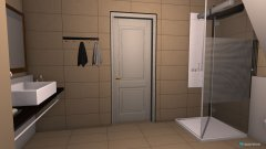 Raumgestaltung Bad DG in der Kategorie Badezimmer