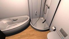 Raumgestaltung Bad Dusche + Wanne in der Kategorie Badezimmer