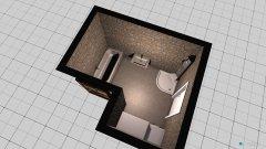 Raumgestaltung Bad eck in der Kategorie Badezimmer