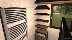 Raumgestaltung Bad EG - 06- Türksteinweg 30 in der Kategorie Badezimmer