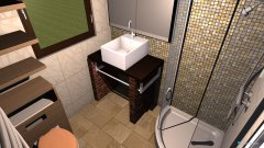 Raumgestaltung Bad EG - 07- Türksteinweg 30 in der Kategorie Badezimmer