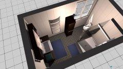 Raumgestaltung Bad  - Einliegerwohnung in der Kategorie Badezimmer