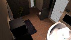 Raumgestaltung Bad Eltern V1 in der Kategorie Badezimmer