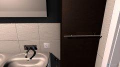 Raumgestaltung Bad Erdgeschos in der Kategorie Badezimmer