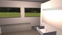 Raumgestaltung Bad Fenster geaendert V2 in der Kategorie Badezimmer