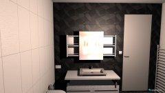 Raumgestaltung Bad Flair 125 2. Variante in der Kategorie Badezimmer