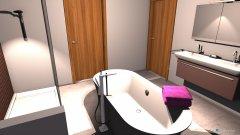 Raumgestaltung Bad freistehend in der Kategorie Badezimmer