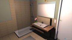 Raumgestaltung Bad Grundriss in der Kategorie Badezimmer